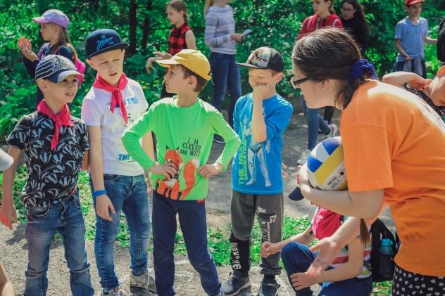 Детский праздник в Томске