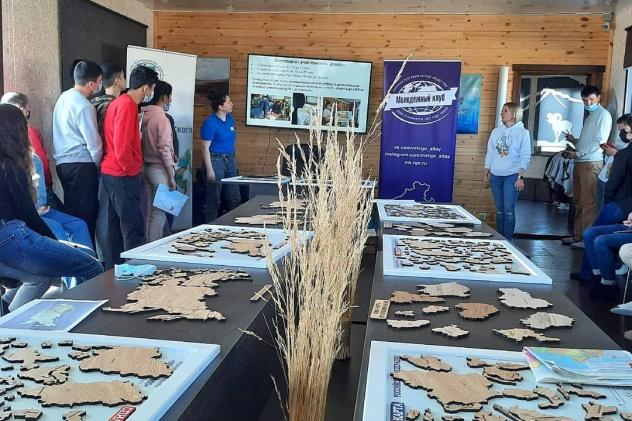 Презентация Молодёжного клуба РГО на базе отделения в Республике Алтай