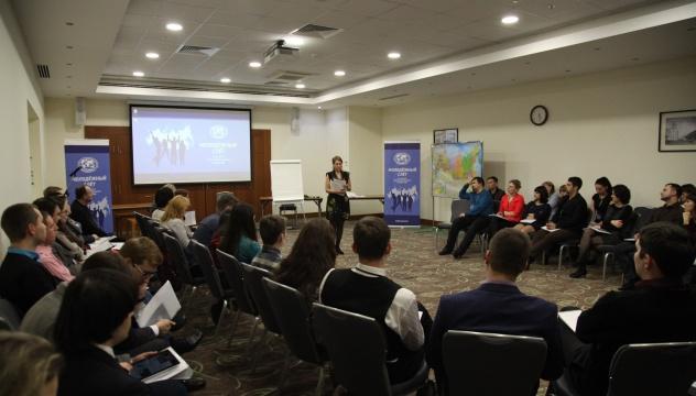 Ольга Царева рассказывает о молодежных грантах РГО