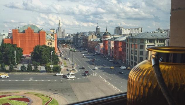Вид на Новую площадь