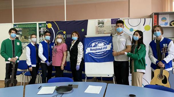 Фото предоставлено Молодёжным клубом РГО на базе на базе Омского ГАУ