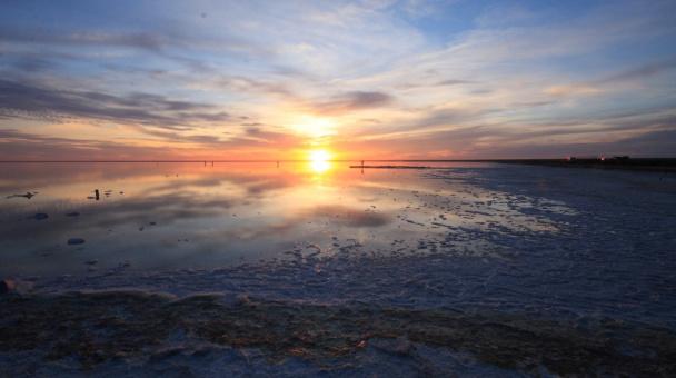 Озеро Эльтон, Волгоградская область (фото из доклада Ю.А. Федорова)