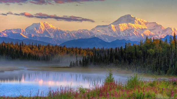 """Аляска: ""Страна полуночного солнца"""