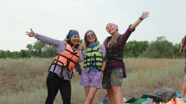 Тематический слёт молодёжных клубов РГО в Волгоградской области