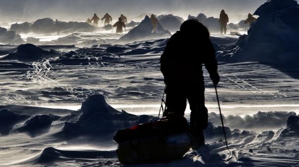 На лыжах - к Северному полюсу