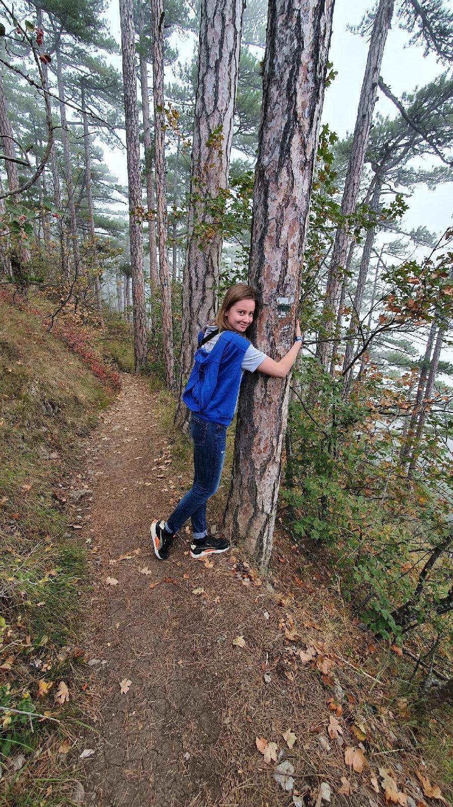Ангелина Малашенкова — главный ценитель горных красот Республики Крым